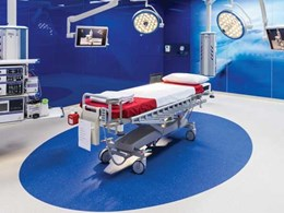 Accolade Plus vinyl flooring specified for Coolangatta, QLD hospital
