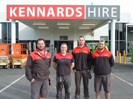 Kennards Hire Albany honoured with Gold Hire Excellence Award for contribution to NZ hire industry