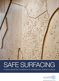 Safe surfacing: Hygienic design and the benefits of antimicrobial surface coatings