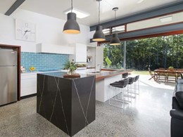PGH bricks on splashback transforms kitchen in King Creek home