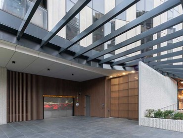 KingsDomain aluminium batten cladding Melbourne