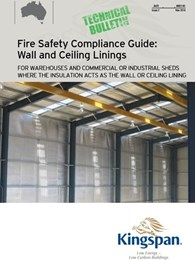 Kingspan Insulation's new Fire Safety Compliance Guide for exposed insulation