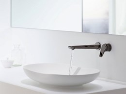Timeless Titanium added to Kohler's Avid tapware collection