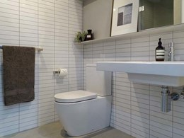 Well-appointed Sync bathroom pods provide time and quality gains at Melbourne high-rise