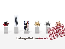 Enter USD 2M International LafargeHolcim Awards for sustainable design