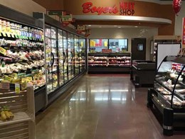 Laticrete solutions help polished concrete contractor address challenges at new Boyer's Market store