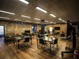 Armourpanel plywood enhances heritage features at new Albert Park College campus