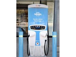 LEDA's Aegis bollards providing perimeter protection to NRMA charging stations