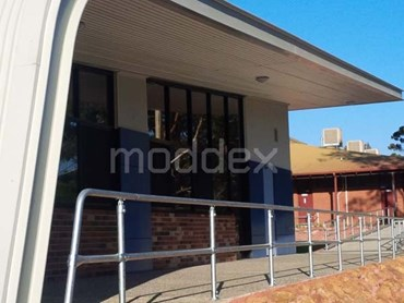 Assistrail handrails at Lesmurdie Senior High School