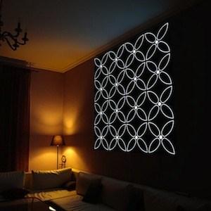 New Light Emitting Wallpaper Redefines Interior Lighting