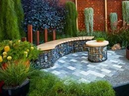 Garden design featuring Premier Hydropavers wins Melbourne International Flower and Garden Show awards