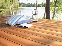 Durability and stability assured in Lunawood screening, cladding and decking