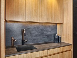 Corian surfaces a standout feature at design award winning Luxe Lodge