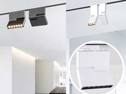 New LED track lights add unique touch to interior lighting