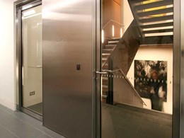 Fire rated doors and access stairs encourage movement at Sydney law firm
