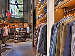 Stunning retail lighting solution created for MJ Bale store in Sydney CBD
