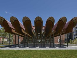 Curved glass gutters supplied for challenging project at Sydney community centre
