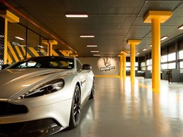 Ballito luxury car wash Machine WashWorx installs bespoke floors from Flowcrete