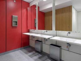 New Co-op HQ in Manchester extends stylish interiors to washrooms