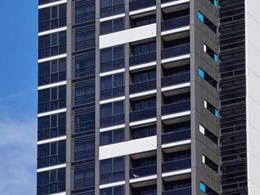 Alspec's high performance acoustic range ensuring guest comfort at North Sydney hotel