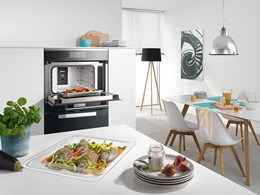 Miele's clever appliance combines steam cooking with microwave heating
