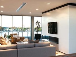 Mirvac Waterfront apartments individually serviced by Daikin ducted VRV split systems