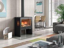 Back to luxury: European-designed wood heaters as statement pieces