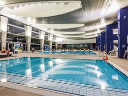 LED sports lighting upgrade at Monash Aquatic Centre