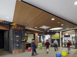 Atkar's Au.diPanel timber panels assist with acoustic separation at Moonee Ponds school