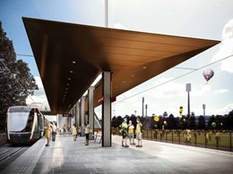 Grimshaw-designed Sydney light rail stop prototype unveiled