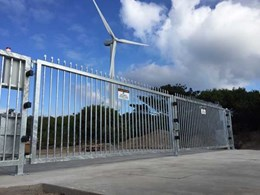 Magnetic installs two multi-functional swing gates at quarry site