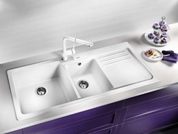 BLANCO: Tough kitchen sinks that can take the heat and still look good