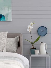 Glosswood adds Feather Grey to Satin UV range of prefinished lining boards