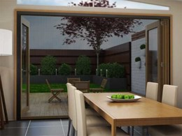 Brio's new retractable pleated insect screens for retrofits