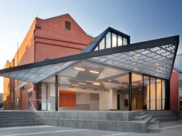 Brio's Stackadoor 200 track systems create flexible function space at Ballarat art gallery