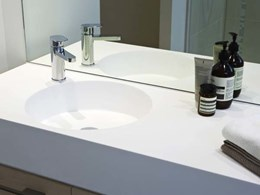 Neo vanities match luxurious aesthetic of prestigious Southbank apartments