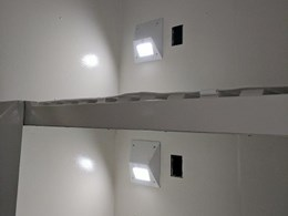 Tamper proof, energy efficient LED luminaires for correctional facilities