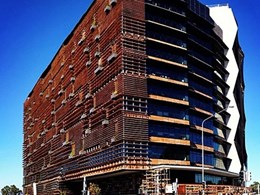 Reclaimed timbers used at Canberra's most sustainable building