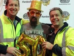 ARDEX Australia celebrating 50 Years of Innovation