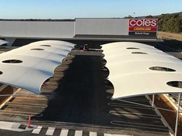 MakMax delivers custom carpark shade structures to Coles Byford