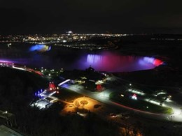 Spectacular LED illumination at Niagara Falls comes alive with Philips Lighting controls
