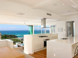 Easycraft easyvj panelling used throughout beautiful Noosa Beach holiday home