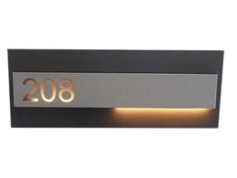 New Hotel LED rail wall protector featuring a stylish design and high impact resistance