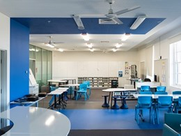 Vogl plasterboard meets acoustic and aesthetic goals at O'Connell Street Public School