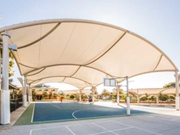 Greenline designs multiple large span fabric structures for Oakhurst, NSW school
