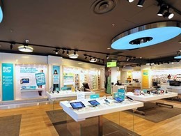 Optus rolls out new retail stores with lighting by Aglo Systems