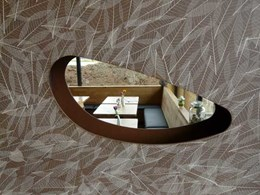 New organic decorative coatings bring nature to walls and ceilings
