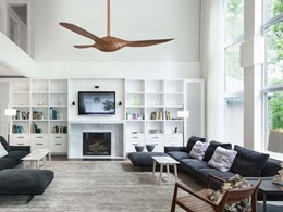 Fanco's Origin DC ceiling fan just right for the Australian summer