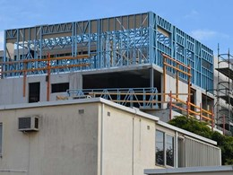 Light gauge steel framing replaces traditional materials at Bentleigh East, VIC apartments