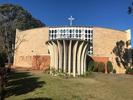 AAA looks at Our Lady of the Rosary Church, St Mary's (1962) by Kevin J. Curtin